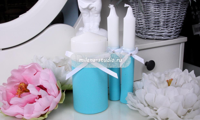Комплект свечей «Tiffany & Co»