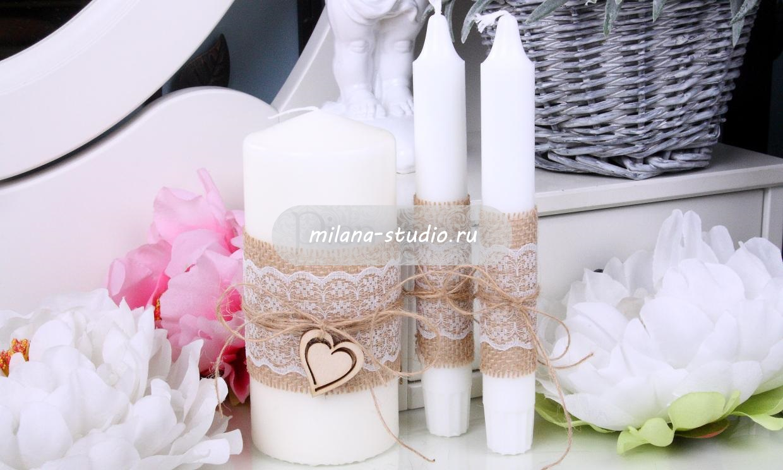 Комплект свечей «Natural»