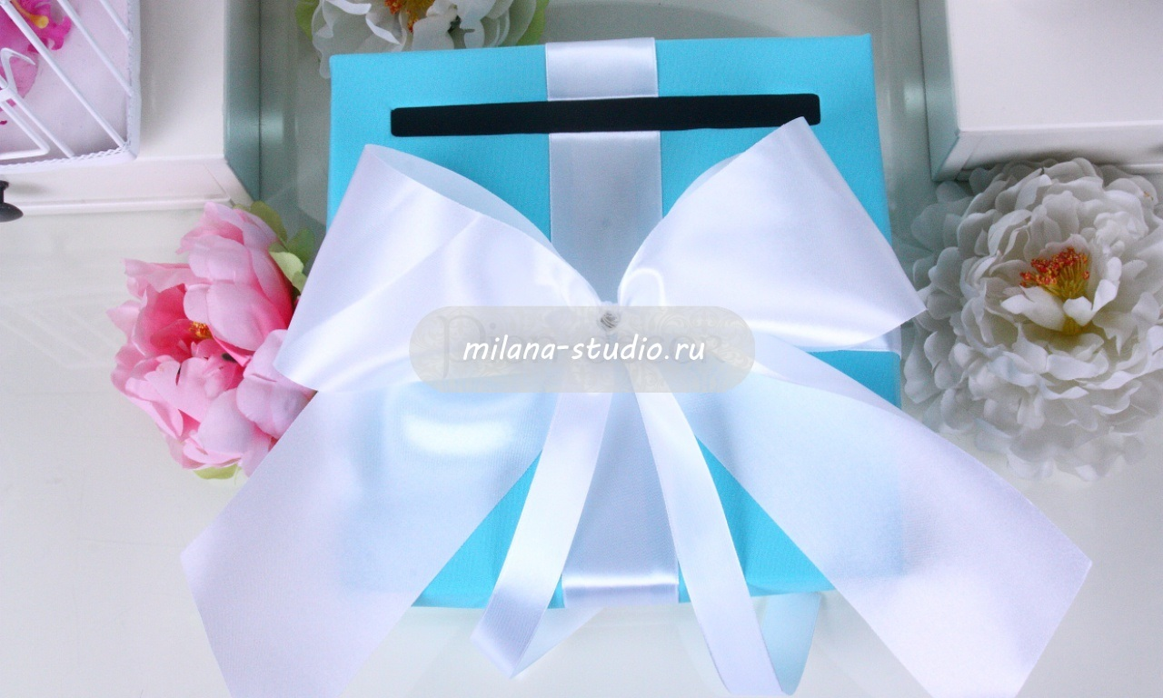 Коробка «Tiffany & Co» для конвертов