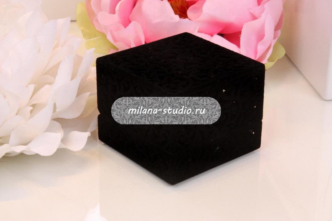 Коробочка для колец «Черный узор»