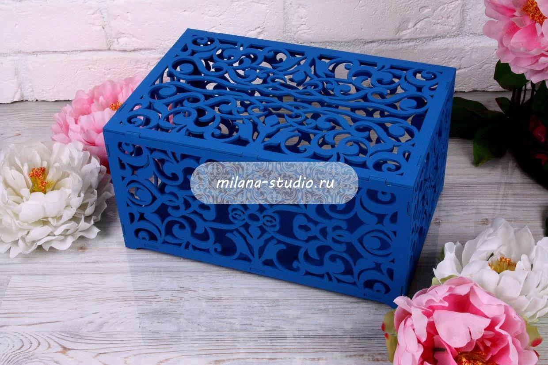 Коробка для конвертов «Узоры»