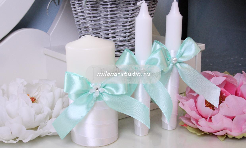 Комплект свечей «Tiffany»