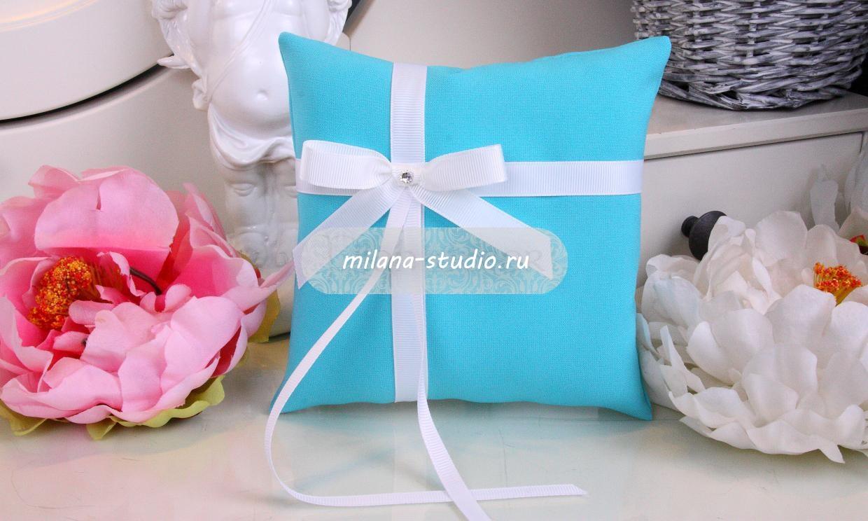 Подушка «Tiffany & Co»
