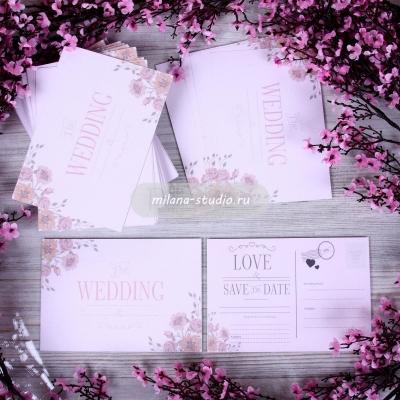 "Wedding invitation ""Love"""