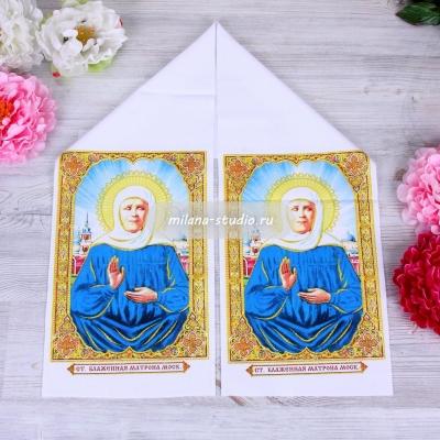 Рушник для иконы «Блаженная Матрона»