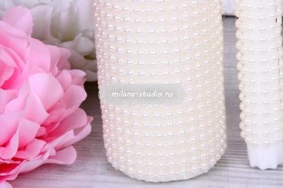 """Комплект свечей для очага """"Pearl"""""""