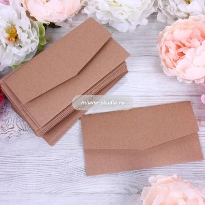 Крафтовый конверт для приглашения