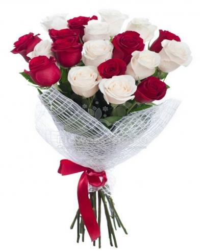 Букет из 17 шт роз