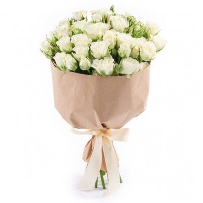 Букет из 15 шт кустовых роз