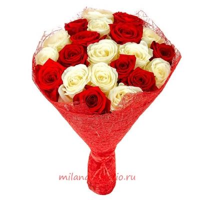 Букет из 25 шт роз