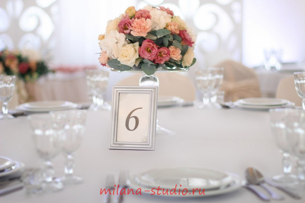 Декор на свадебный стол гостей своими руками 40