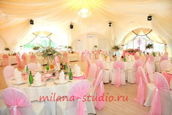 Необычные украшение залов для свадьбы 28