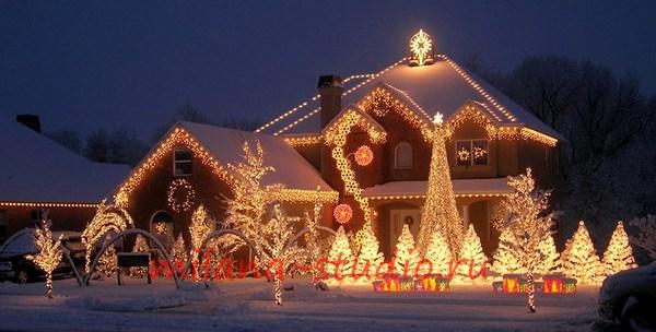 Новогоднее жилище